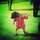 Little Obon Dancer by David Bath