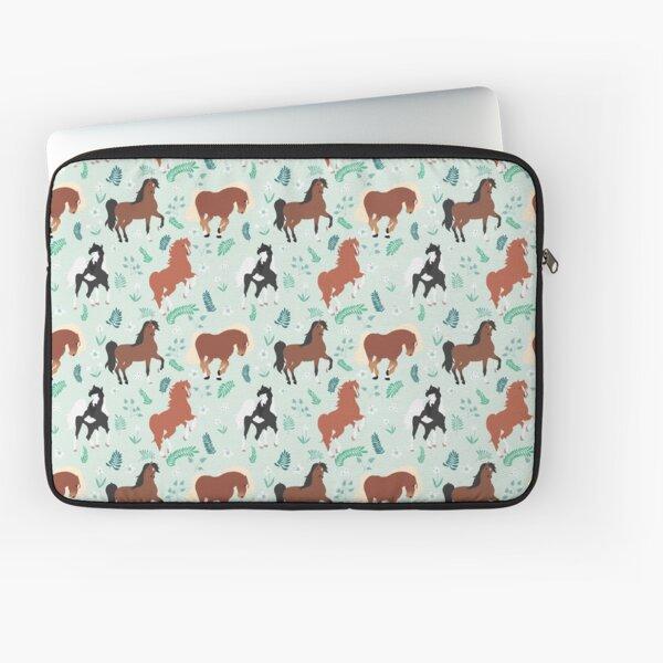 Horse pattern v02 Laptop Sleeve
