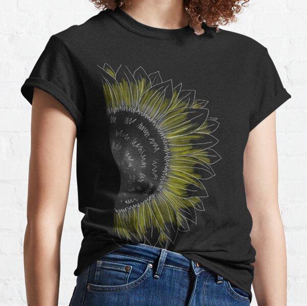 Sunflower in the Night  Classic T-Shirt