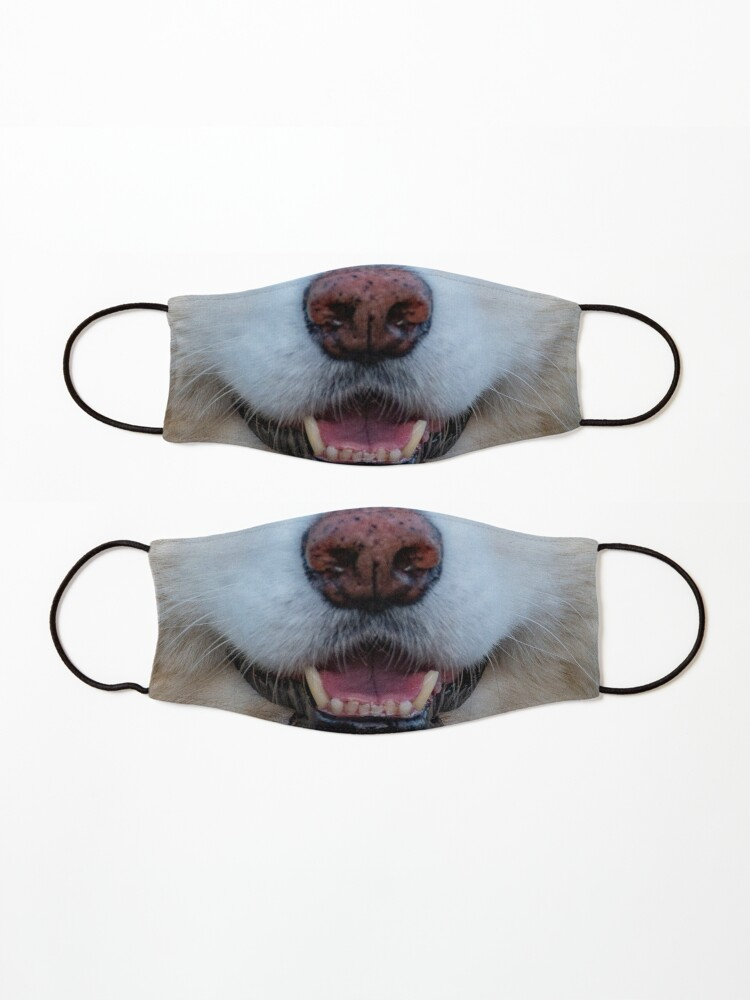 Alternate view of dogs nose Mask