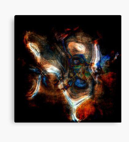 Seismic Waves Travelling Through An Unknown Medium Canvas Print