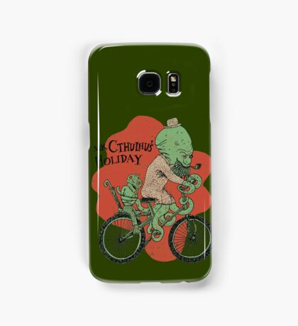 Mr. Cthulhu's Holiday Samsung Galaxy Case/Skin