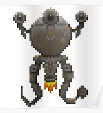Pixel Codsworth Poster