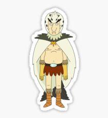 Bird Person Sticker