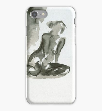 Impressions - Figure Painting Series iPhone Case/Skin