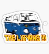 The Libyans!! Sticker