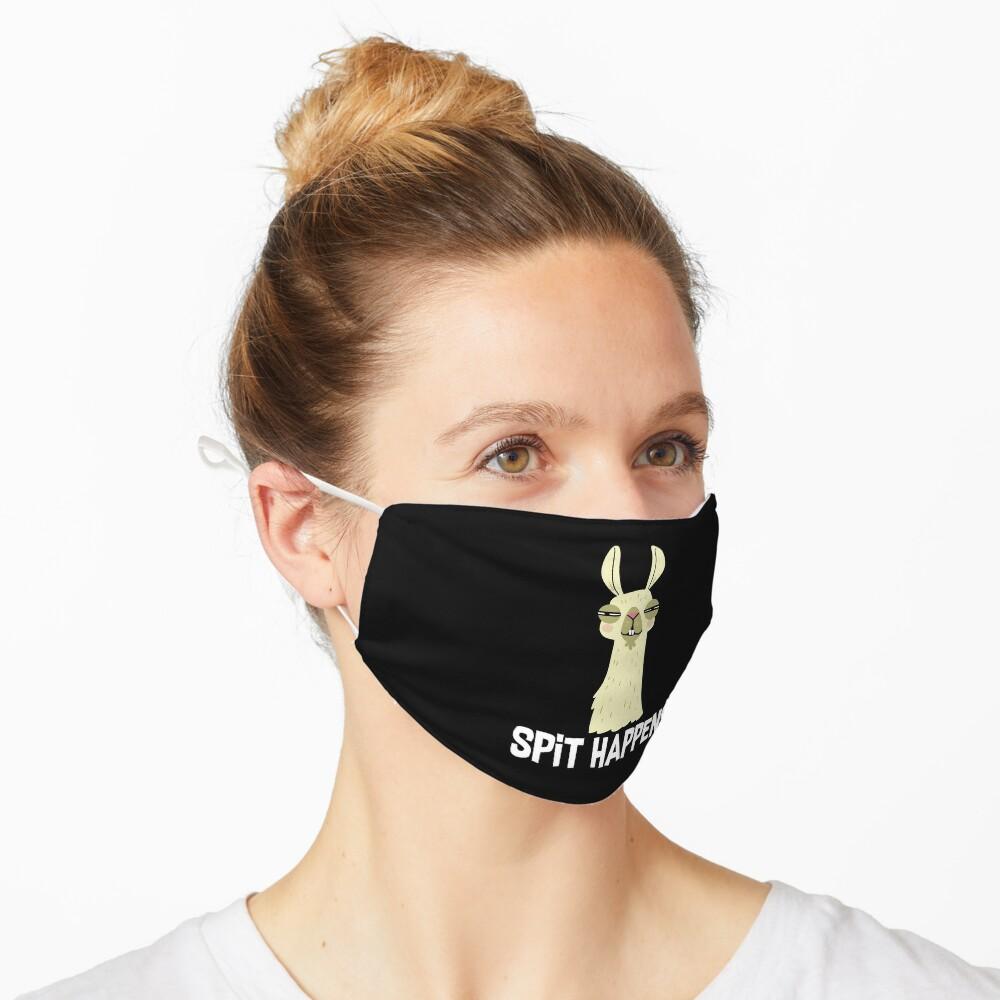 Llama Spit Happens  Mask