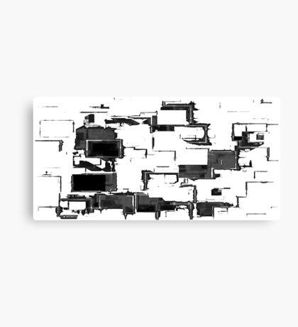 L'escalier Canvas Print