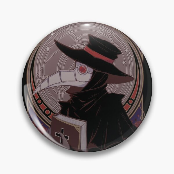 Dark Doctor Pin