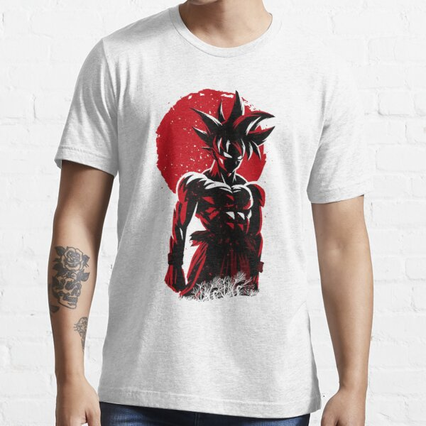 Son goku japanese art Essential T-Shirt