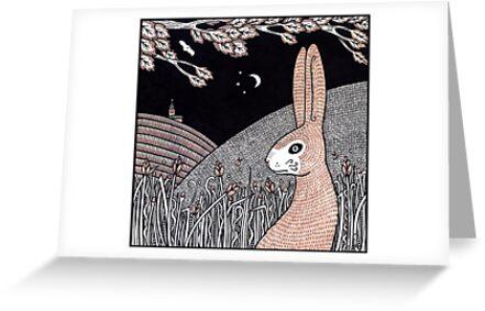 Midnight Buck Hare by Anita Inverarity