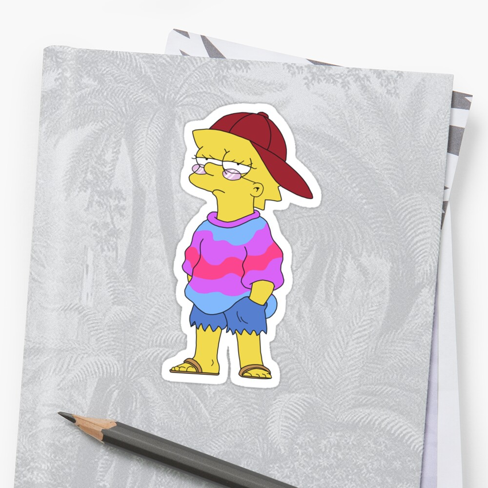Quot Cool Lisa Quot Sticker By Coolshirts Redbubble