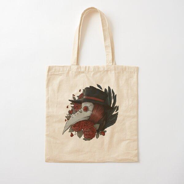 Plague Doctor Cotton Tote Bag