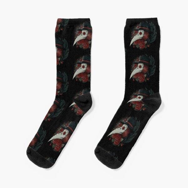 Plague Doctor Socks