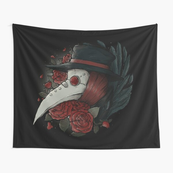 Plague Doctor Tapestry