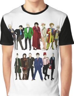 Doctor Who - The 13 Doctors Graphic T-Shirt