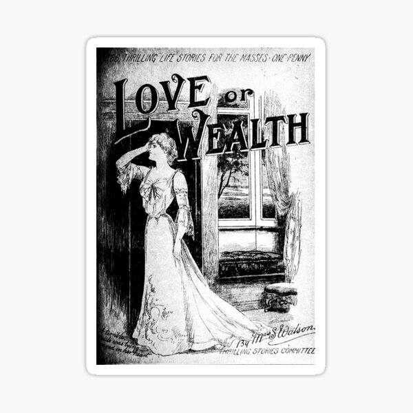 Love or Wealth Sticker