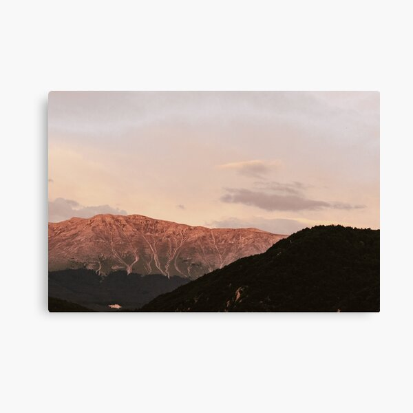 Sunset Pink | Nature and Landscape Photography Canvas Print