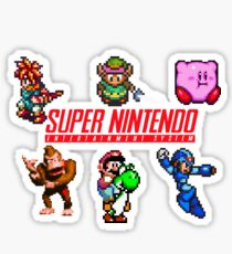 Super Nintendo Sticker