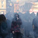standing still in to the smoke  by fabio piretti