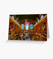 Grand Central Station New York City Greeting Card