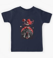 Queen of Hearts: Painting the Roses Red Kids Tee