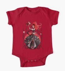 Queen of Hearts: Painting the Roses Red One Piece - Short Sleeve