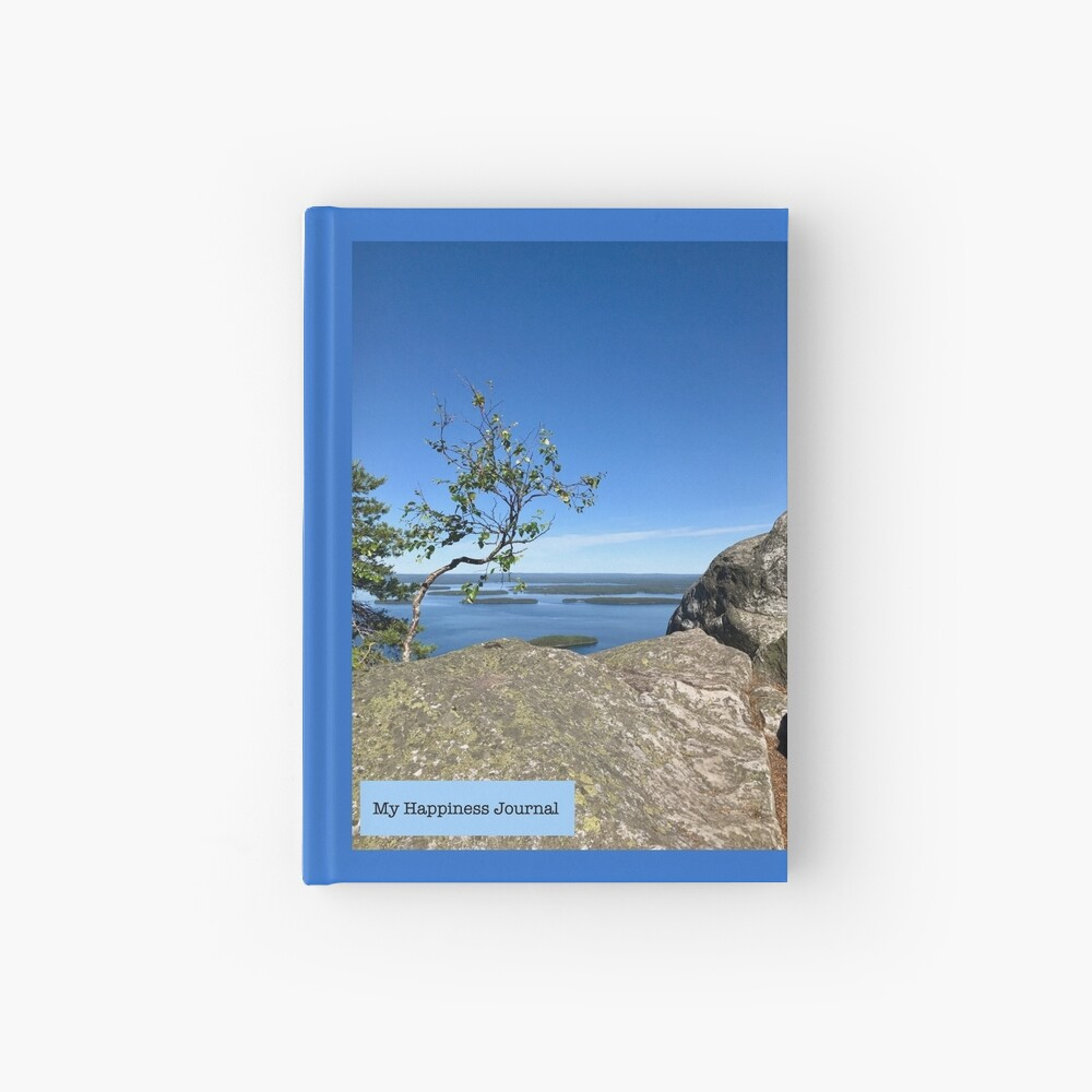 Happiness Journal Tree on Top Hardcover Journal