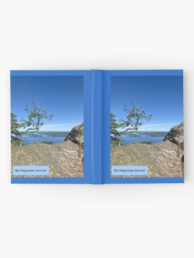 Alternate view of Happiness Journal Tree on Top Hardcover Journal