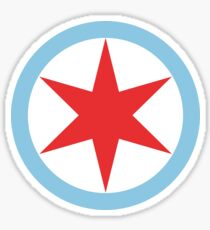 Captain Chicago (Clean) Sticker