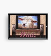 Electric Sheep Canvas Print