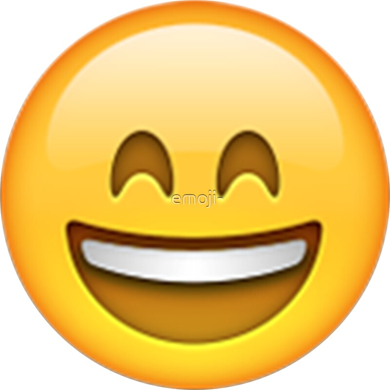 pegatinas quotemoji smiling face with open mouth and