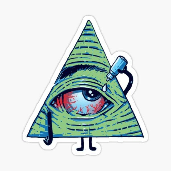 Red Eye Sticker