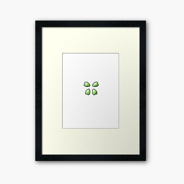 4Chan Logo Plain Framed Art Print