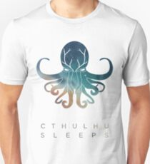 Deadmau5 Cthulhu schläft Slim Fit T-Shirt