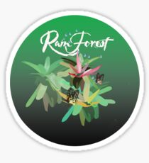 Flora on a shirt Sticker