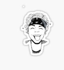 Ashton babe Sticker