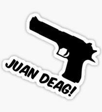 Counter Strike Juan Deag Sticker