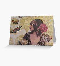 Gypsy Eyes Greeting Card