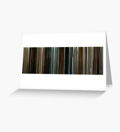 Moviebarcode: The Assassination of Jesse James by the Coward Robert Ford (2007) Greeting Card