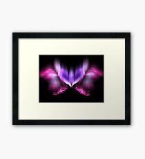 Lilac Firefly Framed Print