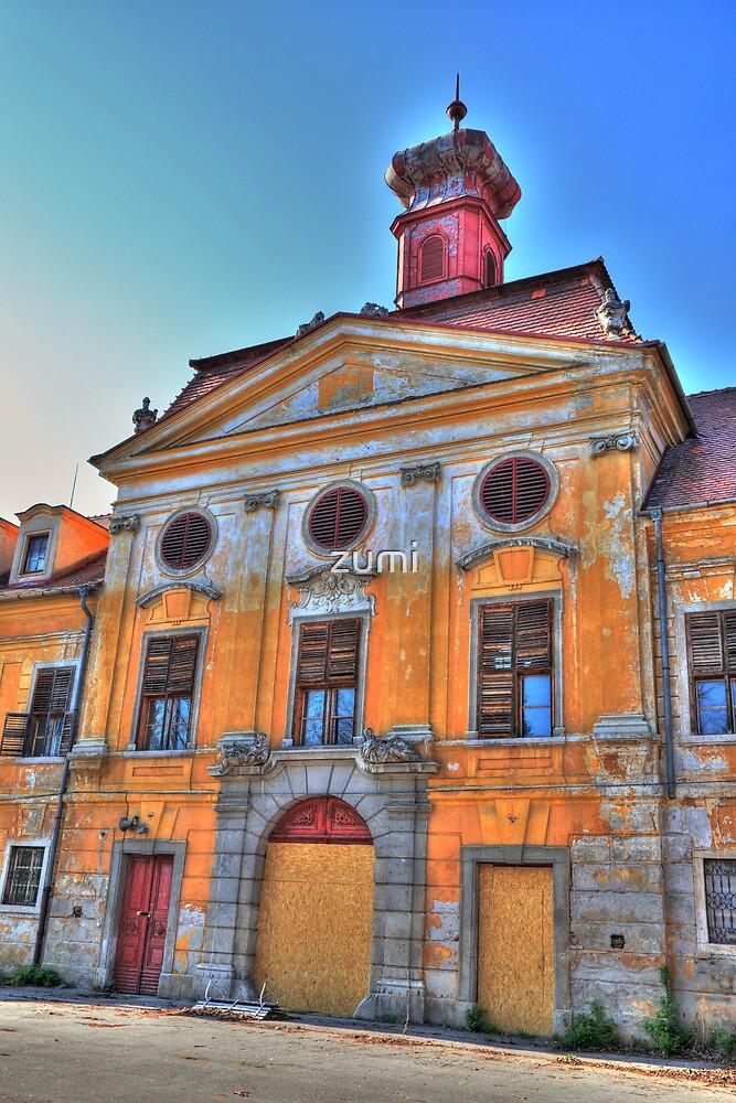 Baroque castle by zumi