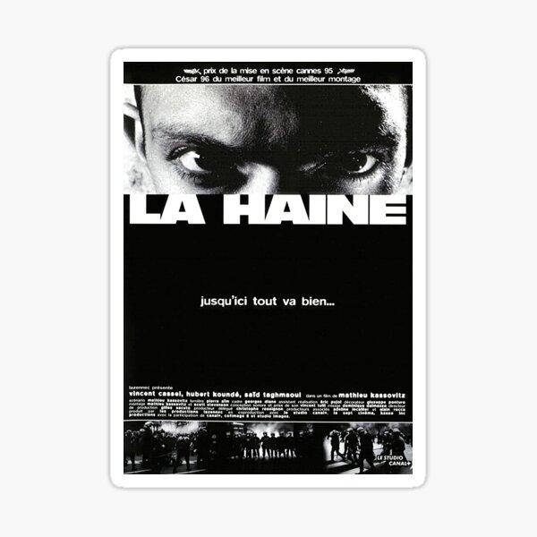 La Haine Filmplakat Sticker