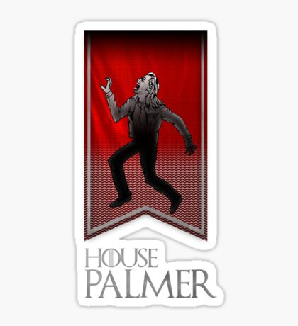 House Palmer Sticker