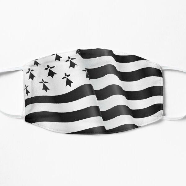 Drapeau breton Masque sans plis