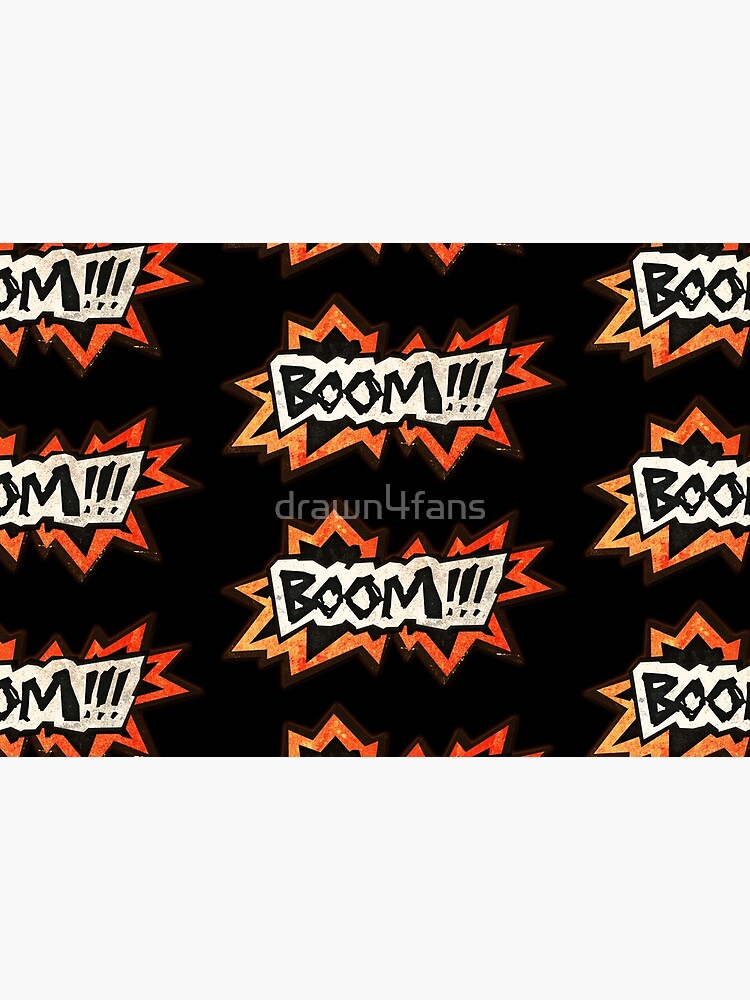 Boom Icon by drawn4fans
