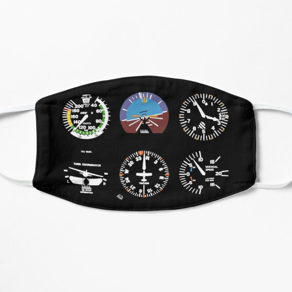 Cockpit Six Dials Flight Simulator Pilot Mask
