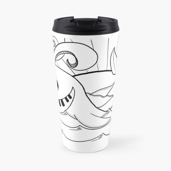 Piano Fish Travel Mug