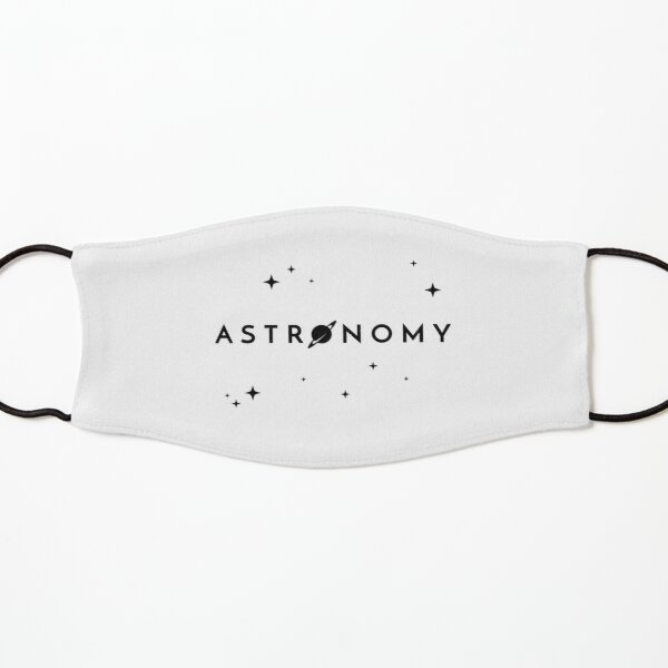 Astronomy (Inverted) Kids Mask
