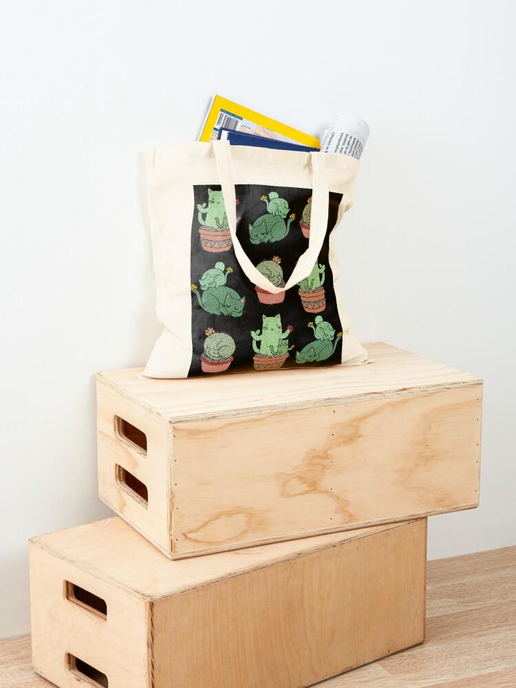 Alternate view of Cactus Cats Tote Bag